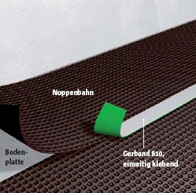 abdichten gegen feuchtigkeit und radon. Black Bedroom Furniture Sets. Home Design Ideas