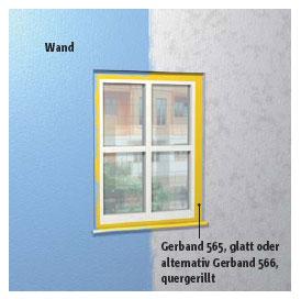 Abkleben bei Maler- und Gipserarbeiten im Innen- und Außenbereich